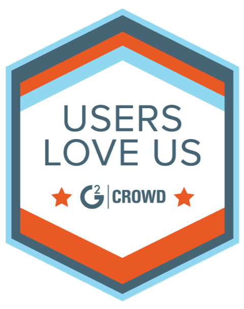 G2 Crowd - Users Love Us