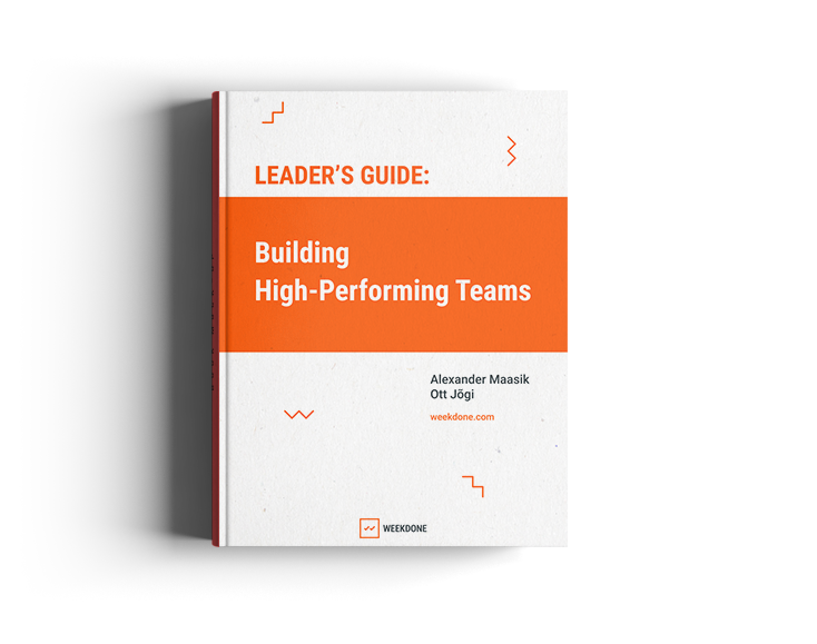 Weekdone's resources to help leaders and managers improve their teams and get more done.