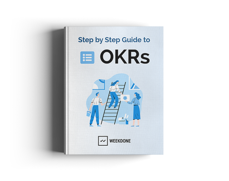 Step By Step Guide To Okrs Ebook Weekdone